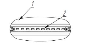 Рама для горизонтальных прямоугольных воздуховодов