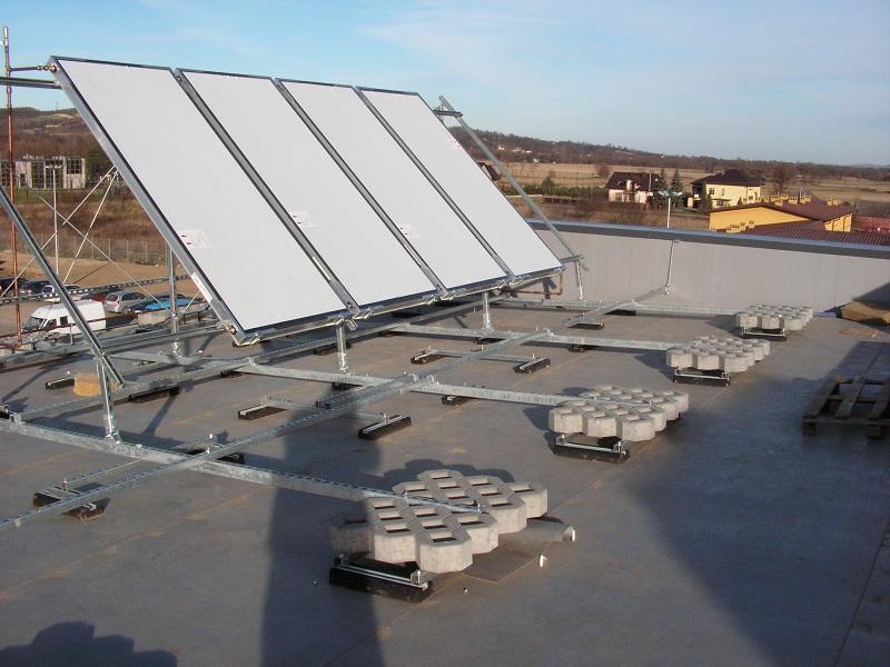 Опоры для солнечных батарей