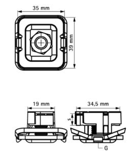 Гайка быстрого монтажа G2 (BUP1000)